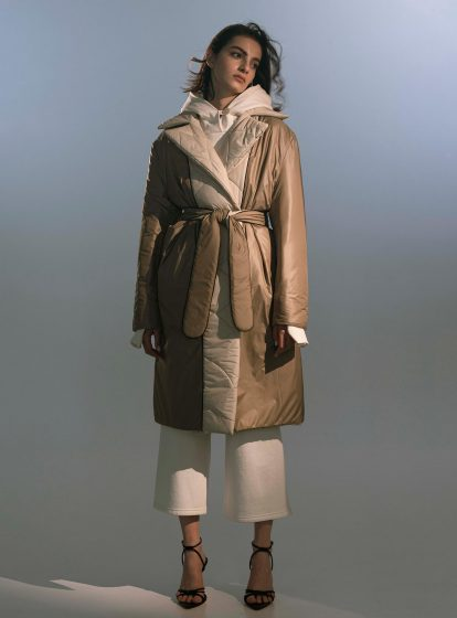 QUILTED REVERSIBLE COAT HAZEL AW/21  (PRE-ORDER)